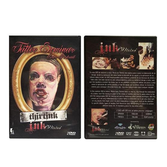 DVD Seminario color Portrait Thirtink