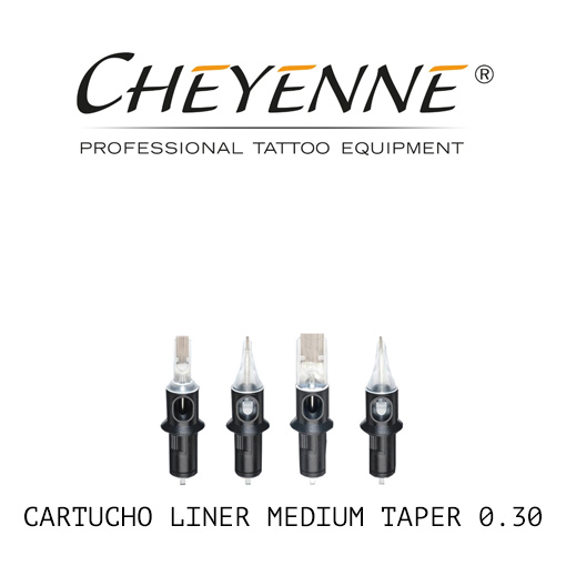 cartuchos cheyenne liner medium taper 030