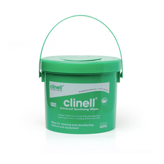 clinell cubo desinfeccion superficies
