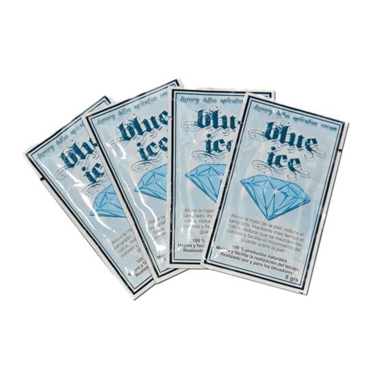 Crema para tatuar blue ice monodosis 8gr