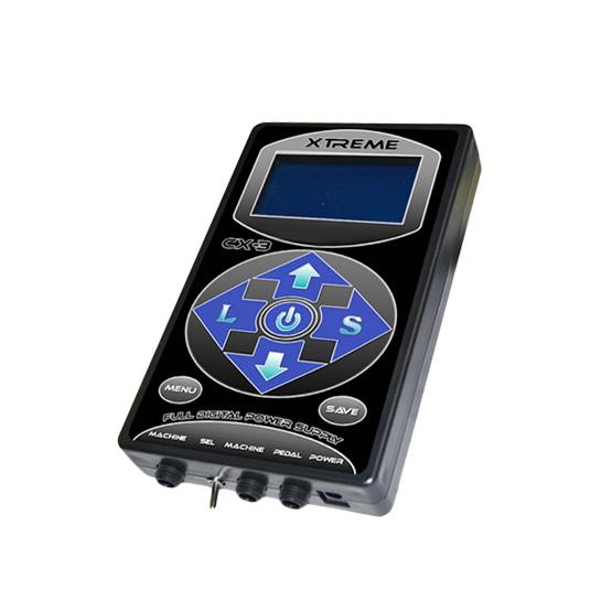 Fuente de Alimentación Digital Xtreme HP-2 Digital para 2 máquinas de tatuar