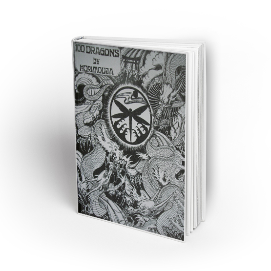 libro tattoo 100 dragons by Horimouja